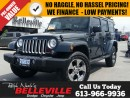 Used 2017 Jeep Wrangler Unlimited Sahara-Bluetooth-Remote Start for sale in Belleville, ON