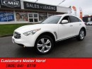 Used 2011 Infiniti FX35 - AWD -  NAVIGATION for sale in St Catharines, ON
