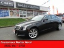 Used 2013 Cadillac ATS 3.6 Luxury   CAM! REMOTE START! CUE! BLUETOOTH! for sale in St Catharines, ON