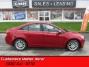 Used 2011 Chevrolet Cruze ECO   ALLOYS! BLUETOOTH! 6SPEED! XM! for sale in St Catharines, ON