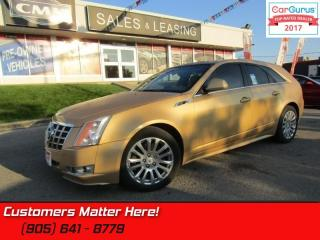 Used 2013 Cadillac CTS Wagon Performance Collection   AWD, NAVI, PANOROOF, CAMERA for sale in St Catharines, ON