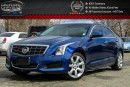 Used 2014 Cadillac ATS AWD|Sunroof|Backup Cam|Bluetooth|Leather|Heated Front Seats|Keyless Go|17