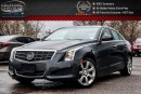 Used 2014 Cadillac ATS AWD|Backup Cam|Bluetooth|Leather|Heated Front Seats|Keyless Go|17