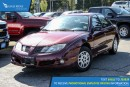 Used 2004 Pontiac Sunfire SL AM/FM Radio and Air Conditioning for sale in Port Coquitlam, BC