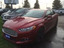 Used 2016 Ford Fusion BACK UP CAMERA and POWER DRIVER'S SEAT for sale in Brantford, ON