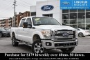 Used 2011 Ford F-250 LARIAT CREWCAB LONG BED 4WD - LEATHER - BLUETOOTH - TRAILER TOW PACKAGE for sale in Ottawa, ON