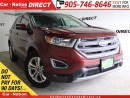 Used 2016 Ford Edge SEL| AWD| NAVI| LEATHER| PANO ROOF| for sale in Burlington, ON