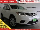 Used 2016 Nissan Rogue SV| AWD| BACK UP CAMERA| OPEN SUNDAYS| for sale in Burlington, ON