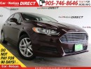 Used 2013 Ford Fusion SE| BACK UP SENSORS| POWER DRIVERS SEAT| for sale in Burlington, ON