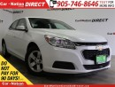 Used 2016 Chevrolet Malibu LT| LEATHER-TRIMMED SEATS| OPEN SUNDAYS| for sale in Burlington, ON