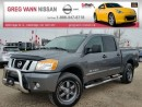 Used 2015 Nissan Titan PRO-4X 4x4 w/all leather,pwr moonroof,NAV,rear cam,running boards,tonneau cover,heated seats for sale in Cambridge, ON