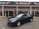 Used 2013 Honda Civic LX AUTO A/C CRUISE CONTROL 49K for sale in North York, ON
