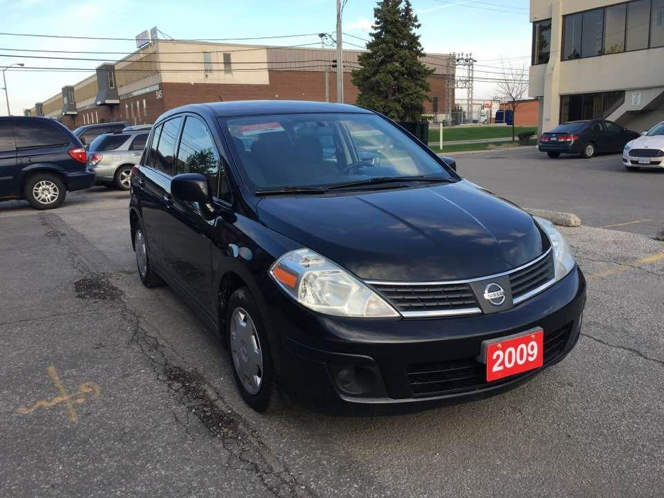 used 2009 nissan versa 1 8 s for sale in north york ontario. Black Bedroom Furniture Sets. Home Design Ideas