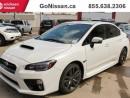 Used 2017 Subaru WRX Limited, AWD, Manual, Sport Tech Pkg for sale in Edmonton, AB