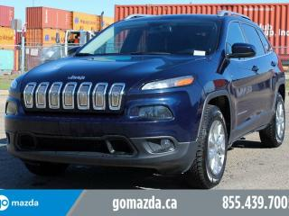 Used 2015 Jeep Cherokee North 4X4 2 SETS OF TIRES ACCIDENT FREE 1 OWNER LOCAL LEASE BACK for sale in Edmonton, AB