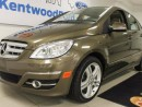 Used 2009 Mercedes-Benz B-Class B200 Turbo with sunroof and heated seats in an olive green for sale in Edmonton, AB