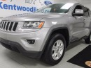 Used 2016 Jeep Grand Cherokee Laredo! power drivers seat! push to start! snazzy silver for sale in Edmonton, AB