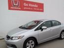 Used 2014 Honda Civic LX, 4DOOR, AC, CRUISE for sale in Edmonton, AB