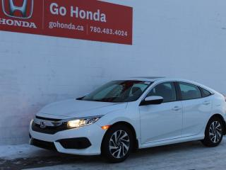 Used 2017 Honda Civic Sedan EX CVT for sale in Edmonton, AB