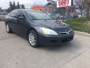 Used 2006 Honda Accord EX,AUTO,LEATHER,SAFETY 3YEARS WARRANTY INCLUDED for sale in North York, ON