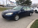Used 2005 Toyota Camry LE,4CYLENDER,AUTO,SAFETY 3YEARS WARRANTY INCLUDED for sale in North York, ON