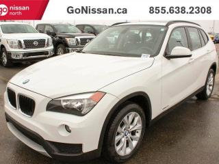 Used 2014 BMW X1 Panoramic sunroof, AWD, Heated seats!! for sale in Edmonton, AB