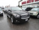 Used 2013 Infiniti JX35 AWD NAVIGATION 360 CAMERA SUNROOF ONE OWNER NO ACC for sale in Oakville, ON