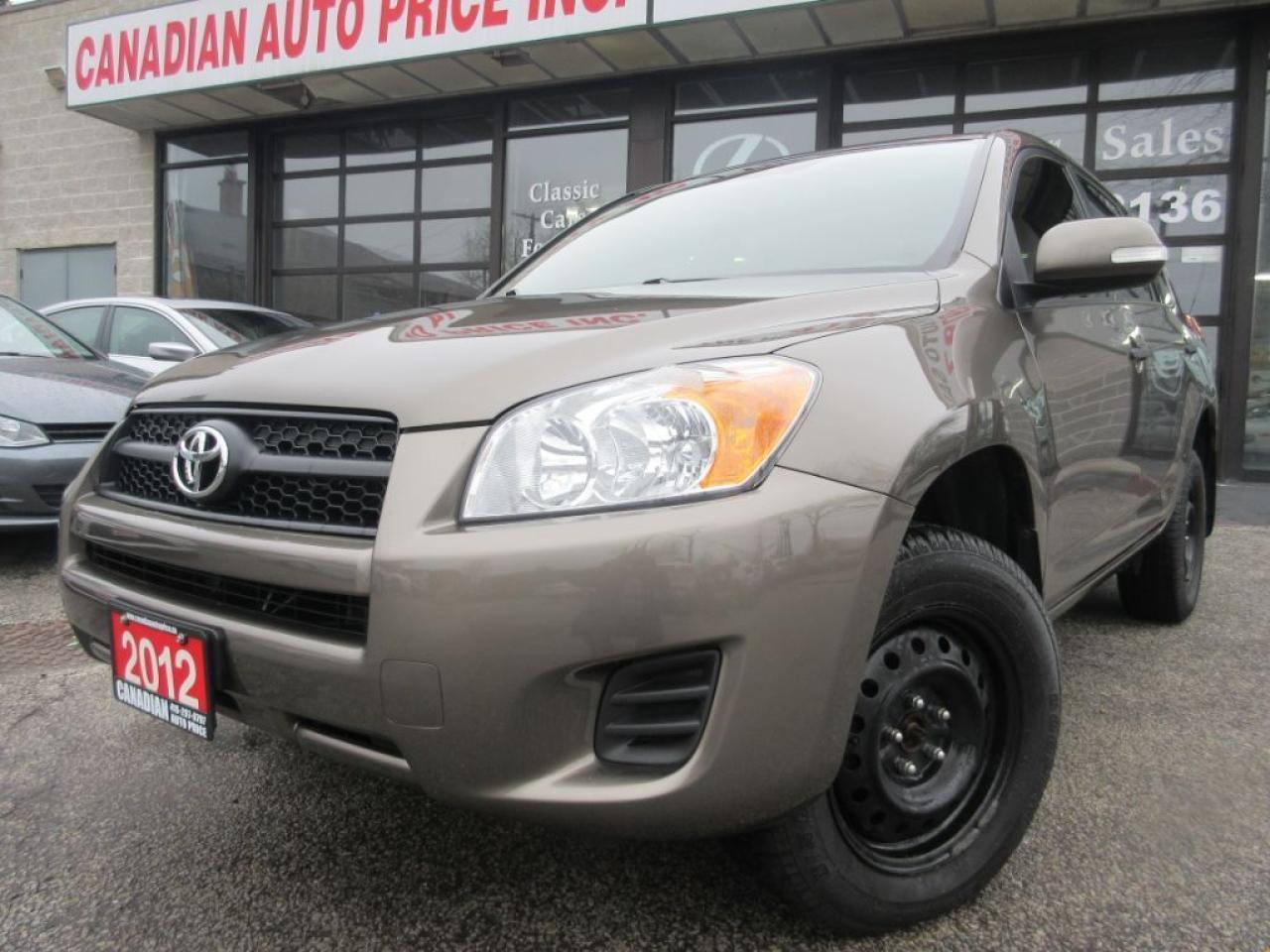 2012 Toyota RAV4 ONE ONWER- ALL POWER OPTIONS-SIDE SIGNAL