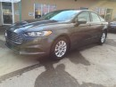 Used 2015 Ford Fusion S DEALER OF THE YEAR 2015  AND 2016...!!! for sale in Bolton, ON