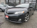 Used 2012 Toyota Camry SE V6, LTHER-NAV- CAMERA-SUNROOF-BLUETOOTH-HEATED for sale in Scarborough, ON
