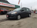 Used 2015 Mazda MAZDA5 GS BLUETOOTH!! THIRD ROW SEATING!! MOUNTED WHEEL C for sale in Bolton, ON
