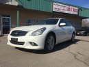 Used 2011 Infiniti G37 X Luxury LEATHER INTERIOR!! SUNROOF!! HEATED SEATS!! for sale in Bolton, ON