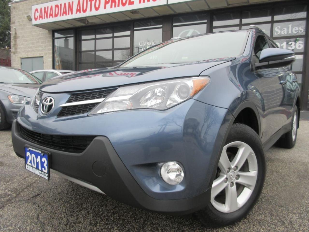 2013 Toyota RAV4 XLE - AWD- CAMERA-BLUETOOTH-SUNROOF-HEATED SEATS