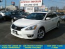 Used 2014 Nissan Altima 2.5SL Prl White Tech Navigation/Camera/Lther for sale in Mississauga, ON