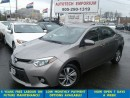 Used 2015 Toyota Corolla LE Tech Navigation/Lther/Camera/Sunroof for sale in Mississauga, ON