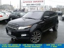 Used 2013 Land Rover Evoque Pure Navigation/Blindspot/Camera for sale in Mississauga, ON