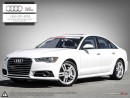 Used 2017 Audi A6 Technik with Driver assistance package Audi certified plus one included! for sale in Halifax, NS