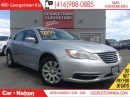 Used 2012 Chrysler 200 LX ALLOY WHEELS | BLUE TOOTH | ONE OWNER | for sale in Georgetown, ON