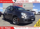 Used 2015 Fiat 500 SPORT | LEATHER | ALLOY WHEELS | BLUETOOTH | for sale in Georgetown, ON