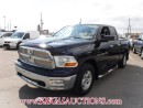 Used 2012 RAM 1500 SLT QUAD CAB 4WD for sale in Calgary, AB