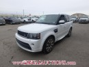 Used 2013 LANDROVER RANGE ROVER SPORT SUPERCHARGED 4D UTILITY 5.0L for sale in Calgary, AB