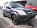 Used 2003 Honda CR-V 4D Utility AWD for sale in Calgary, AB