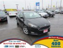 Used 2015 Ford Focus SE | LEATHER | ALLOYS | SYNC for sale in London, ON