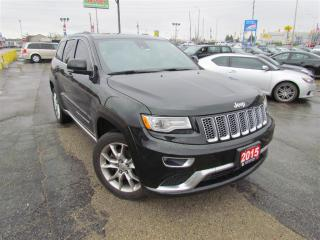 Used 2015 Jeep Grand Cherokee Summit 4WD for sale in London, ON