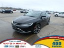 Used 2016 Chrysler 200 C | BACKUP CAM | HEATED SEATS | NAV | SAT | ROOF for sale in London, ON