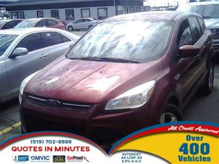Used 2014 Ford Escape SE | BACKUP CAM | HEATED SEATS | SAT RADIO for sale in London, ON
