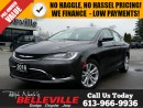 Used 2016 Chrysler 200 Limited-Back UP Camera-8.4 Touchscreen for sale in Belleville, ON