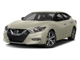New 2017 Nissan Maxima SV CVT for sale in Mississauga, ON