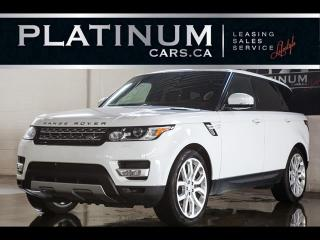 Used 2014 Land Rover Range Rover Sport V8 SUPERCHARGED, NAVI, PANO, CAM, HEATED F/R SEATS for sale in North York, ON