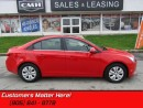 Used 2014 Chevrolet Cruze 1LT   - Sunroof for sale in St Catharines, ON